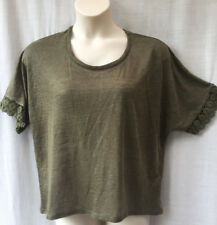 Atmosphere Size 18 Knit Top Womens/Ladies Green Casual Holiday Travel  FREE POST