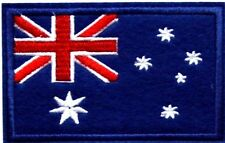Australian Flag Patch Australia Embroidered Iron Sew On Badge Aussie