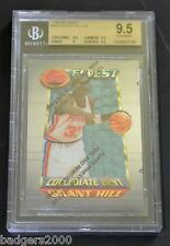 1994-95 Topps Finest Grant Hill Pistons #200 Collegiate Best BGS 9.5 Gem Mint