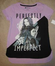 Disney's DESCENDANTS 3 *Perfectly Imperfect* S/S Tee T-Shirt Girls sz 10/12