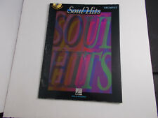 *    PLAY ALONG SERIES-SOUL HITS ---SONGBOOK-FOR TRUMPET-HAL LEONARD CO.W/CD