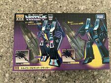 Transformers Thundercracker & Skywarp Encore 11 Takara G1