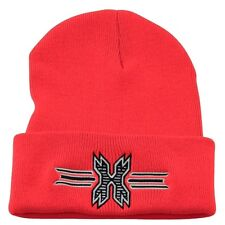 New HK Army Paintball Beanie - Red with Black Icon