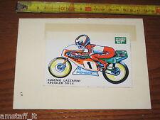 #ADESIVO STICKER EUGENIO LAZZARINI KREIDLER 50 C.C. MOTOCICLISMO ANNI '70