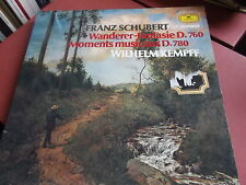 SCHUBERT: WANDERER-FANTASIE D. 760: WILHELM KEMPFF: VINYL LP: DGG RESONANCE