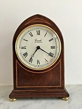 Comitti Of London Quality Arch Top Mantle Clock - Fully Working
