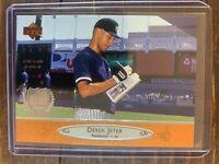 Derek Jeter Baseball Rookie Card #156 Upper Deck Bronze MLB HOF New York Yankees