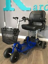 Supascoota Spartan Lightweight Portable Mobility Scooter - Spectacular Comfort