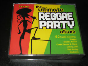 The Ultimate Reggae Party Album Dreier-CD Compilation