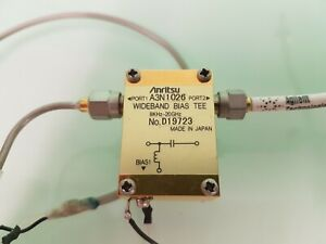 Bias Tee, Anritsu A3N1026 DC to 20 GHz