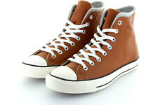 Converse Chuck Taylor AS Hi Cognac Brown Antique Grey Edge Leder 42,5 / 43,5 US9