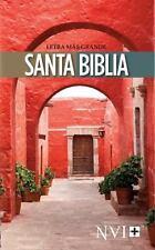 NVI Santa Biblia Letra Mas Grande by Biblica Staff (2015, Paperback, Large Type)