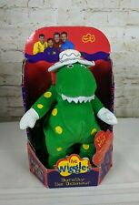 The Wiggles Dorothy the Dinosaur Singing Stuffed Plush 2003 New In Box