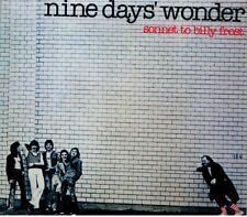 """Nine Day's Wonder:  """"Sonnet To Billy Frost""""  (2017 Digipak CD Reissue)"""