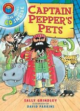 I Am Reading with CD: Captain Pepper's Pets-Sally Grindley, David Parkins