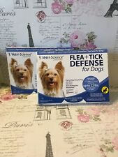 2 Vetri Science Flea + Tick Defense for Dogs and Puppies Upto 22-Pound, 3 Doses