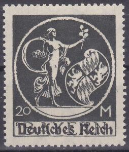 Germany Deutsches Reich 1920 Mi. Nr. 138 PF V 20M Bavaria Definitive Overpt. MNH