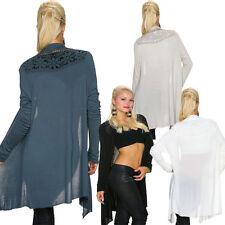 Lange feine Damen-Strickjacken ohne Verschluss