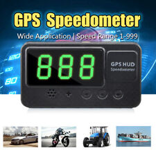 Universal Car GPS HUD Head Up Display Over Speed Warning Speedometer KM/h MPH