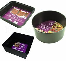 Unbranded Round Cake Tins with Non-Stick