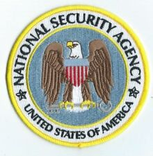 "NATIONAL SECURITY AGENCY - 4""  PATCH  - DEPT OF DEFENSE DoD N.S.A. NSA"