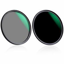 K&F Concept Lens Filter ND1000+CPL Circular Polarizer 37/40.5/43/46/49/52 mm Kit