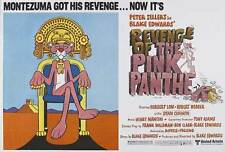 REVENGE OF THE PINK PANTHER Movie POSTER 22x28 Half Sheet C Peter Sellers