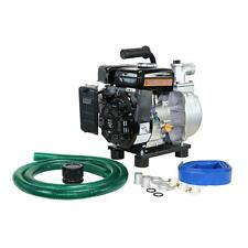 2.2 HP Gas Powered Water Transfer Utility Pump Hose Kit Pool Dewatering Pool