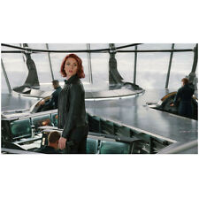 Scarlett Johansson as Black Widow looking back over shoulder 8 x 10 Inch Photo