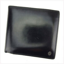Auth Cartier wallet Wallet Pasha Mens used J19447
