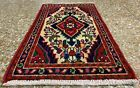 Authentic Hand Knotted Hamidoun Wool Area Rug 2 x 1 Ft (3655 HMN)