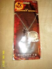 NECA The Hunger Games District 12 Locket Necklace- Carded-