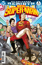 New Super-Man (2016) #1 VF/NM Bernard Chang Variant Cover DC Universe Rebirth