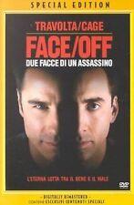 Dvd FACE OFF Due Facce di un Assassino - (1998) Travolta Nicholas Cage ....NUOVO