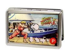 Street Fighter II Ken Master Metal Multi-Use Wallet Card Holder New