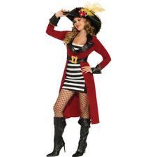"Adult Ladies Renaissance HALLOWEEN COSTUME ""Pirate Queen"" LARGE 12-14 /3 Piece"