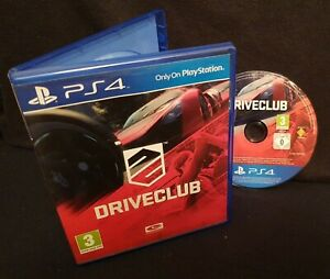 DRIVECLUB (Sony PlayStation 4 Game 2014 PS4) FREE UK P&P