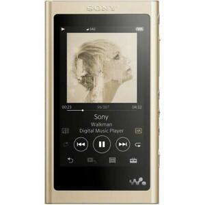 SONY Walkman A Series 16GB NW-A55 Upto 45 Hours Continuous Playback Pale Gold