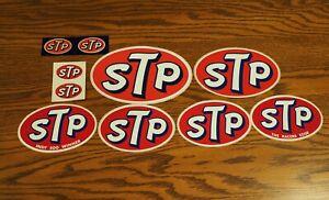Vintage STP Racing Decals / Stickers - Lot B