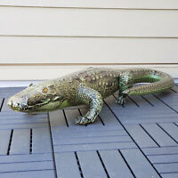 AN-GATOR Inflatable Alligator Air Plush Animal Pool Friendly by Jet Creations