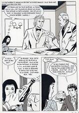 LA LOUVE A PARIS  (RENAUD) PLANCHE ORIGINALE AREDIT PAGE 66