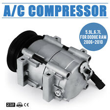 A/C Compressor For 2006 - 2009 Dodge Ram 2500 / 3500 5.9L / 6.7L Cummins Diesel