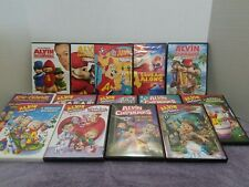 Alvin And The Chipmunks DVD Lot