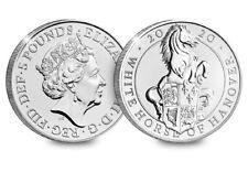 2020 UK White Horse of Hanover CERTIFIED BU £5