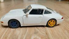 Porshce carrera 911 Burago scale 1/24