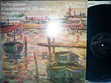 RACHMANINOV PROKOFIEV  No.1 RICHTER Kondrashin Sanderling LP ETERNA 826987 NM