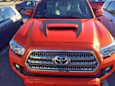 2015 - 2017 TOYOTA TACOMA Front Hood Scoop Decal Inlay Graphic Matte Black Vinyl