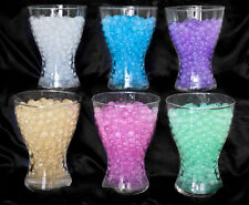 LUXURY GLITTER AQUA WATER CRYSTAL BEADS WEDDING TABLE DECORATIONS CENTREPIECES