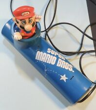 1990 Nintendo of America Inc. Super Mario Bros. Telephone Touch Tone Phone Blue