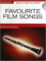 Really Easy Clarinet: Favourite Film Songs, New, Wise Publications Book